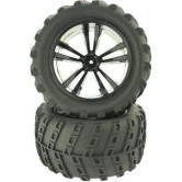 Black Tires and Wheels for Truck/Monster Truck