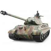 German King Tiger Henschel 1:16 RC Heavy Tank mit Metallteilen