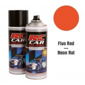 Farbe RC CAR Fluor Rot (Spray 150ml)