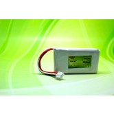 Lipo 7.4V 2S 550mAh 40C PH-3P / 54x30.5x9.5mm 25g