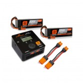Smart Powerstage Bundle 8S 2x 5000mAh 4S 100C Smart LiPo