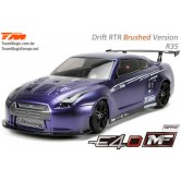 Nissan R35, RTR, 4WD Drift, Brushed