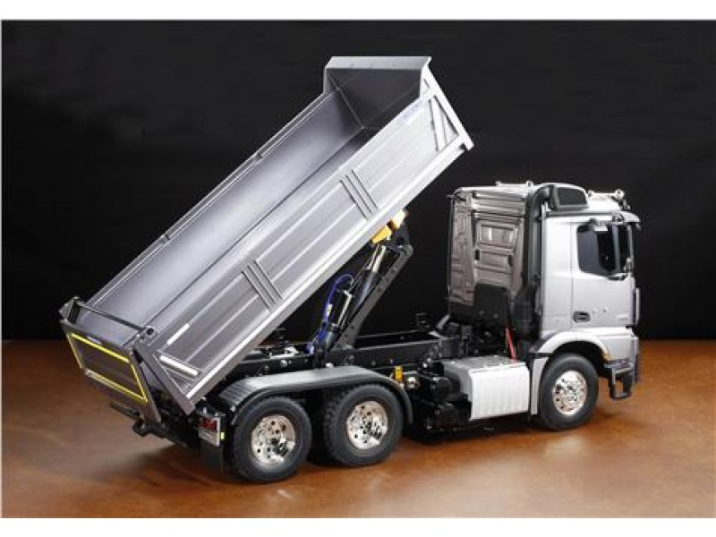 tamiya mb arocs 3348 6x4 tipper truck. Black Bedroom Furniture Sets. Home Design Ideas